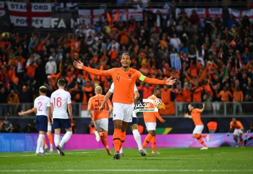 هولندا تقصف إنجلترا لتواجه البرتغال في نهائي دوري الأمم 24