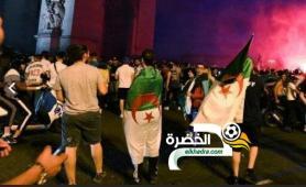 كأس أمم افريقيا : توقيف 282 خلال الاحتفال بفوز الجزائر بفرنسا 25