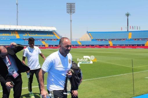 الجزائر - كوت ديفوار : بلماضي بتفقد أرضية ميدان ملعب السويس 24