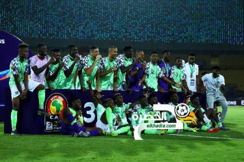 نيجيريا تفوز على تونس وتخطف برونزية الكان 24