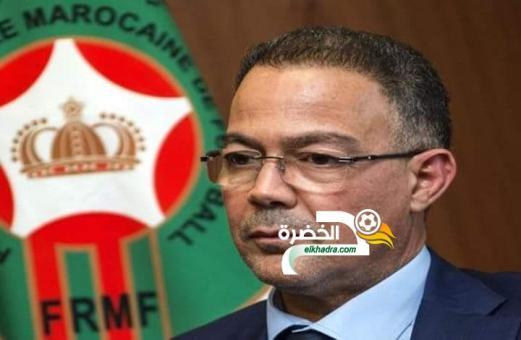 """""""الكاف"""" تقرر توقيف المغربي فوزي لقجع 24"""