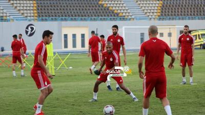 ياسين براهيمي يعود الى تدريبات المنتخب الوطني بعد غياب طويل بسبب الاصابة 24
