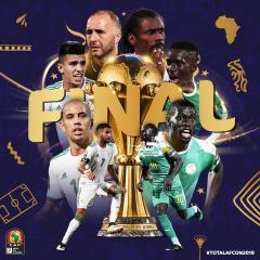 الجزائر والسينغال في نهائي كأس الأمم الإفريقية 26