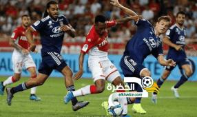 ليون يفوز على موناكو بثلاثية نظيفة في إفتتاح الدوري الفرنسي 28