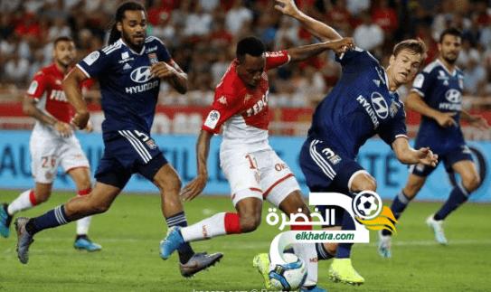 ليون يفوز على موناكو بثلاثية نظيفة في إفتتاح الدوري الفرنسي 24