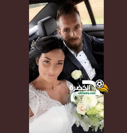 بالصور .. ألكسندر أوكيدجا وزوجته في حفل الزفاف 25
