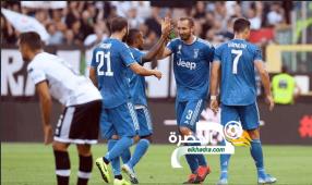 يوفنتوس يفوز على بارما في افتتاح الدوري الإيطالي 25