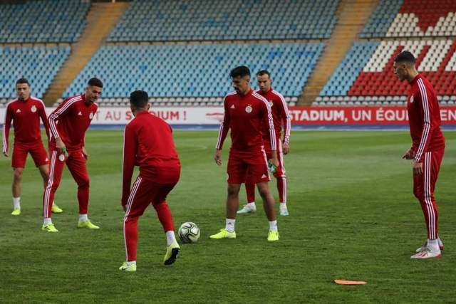 صور آخر حصة تدريبية للخضر قبل المواجهة الودية أمام المنتخب الكولومبي 25