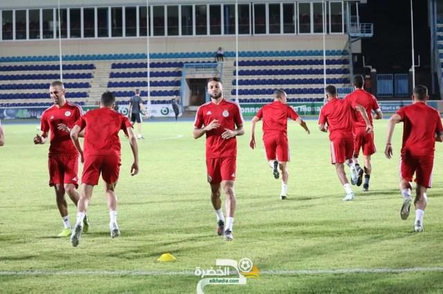 صور آخر حصة تدريبية للخضر تحضيرا للمواجهة أمام المنتخب البوتسواني 25