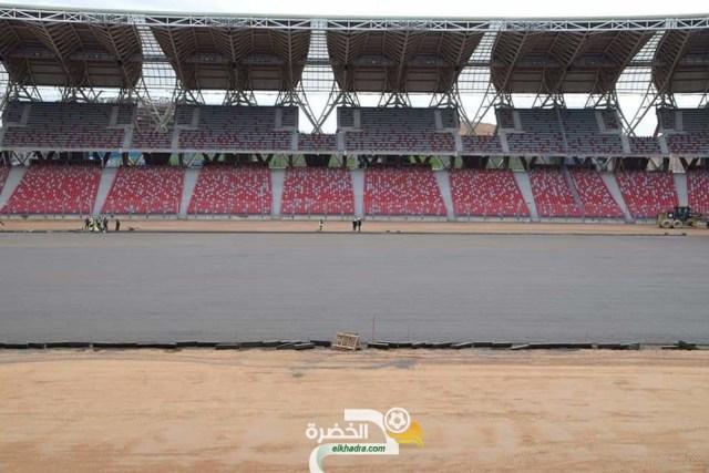 صور من ملعب وهران الجديد اليوم 26