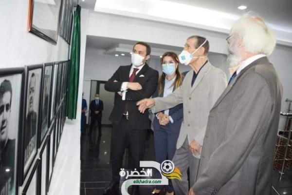بالصور .. تعليق صور أعضاء فريق جبهة التحرير الوطني لاول مرة بمقر وزارة الشباب و الرياضة 28