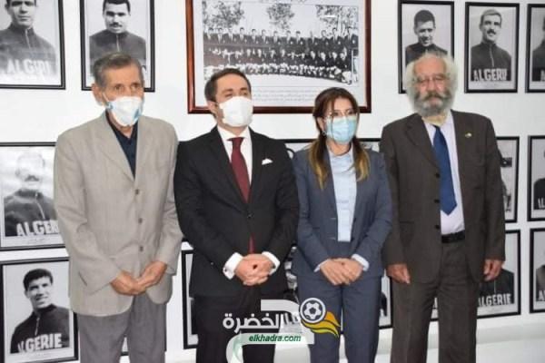 بالصور .. تعليق صور أعضاء فريق جبهة التحرير الوطني لاول مرة بمقر وزارة الشباب و الرياضة 27