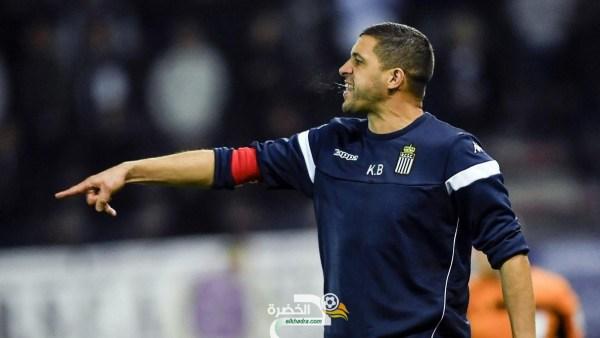 المدرب الجزائري بلحوسين في صدارة الدوري البلجيكي مع شارلوروا 25