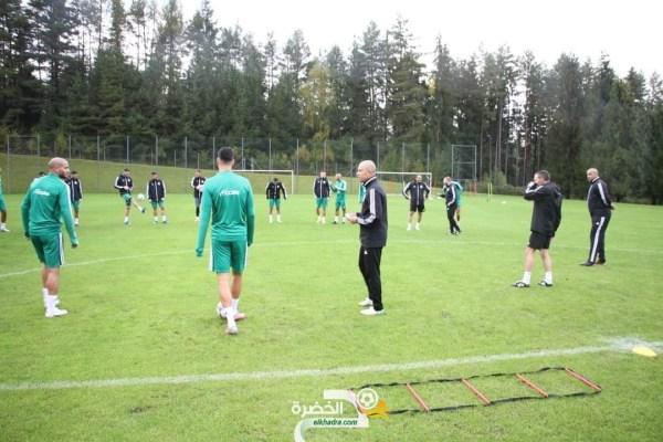 المنتخب الوطني : الحصة التدريبية الأولى عرفت مشاركة 20 لاعبا فقط 25