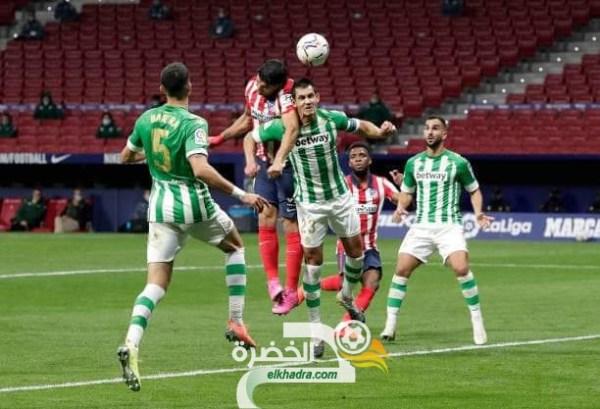 بمشاركة ماندي .. ريال بيتيس ينهزم امام أتلتيكو مدريد بثنائية نظيفة 25