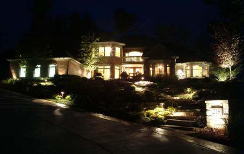 landscape lighting and outdoor lighting