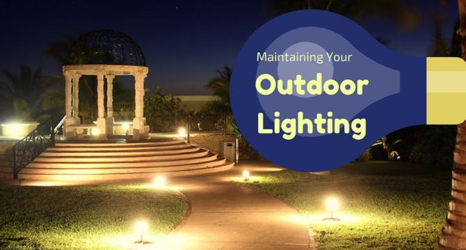 landscape lighting and outdoor lighting in elkhart in
