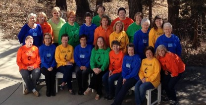 2016 Women's Retreat Group Photo