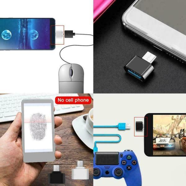 USB til USB C overgang USBCadapter01