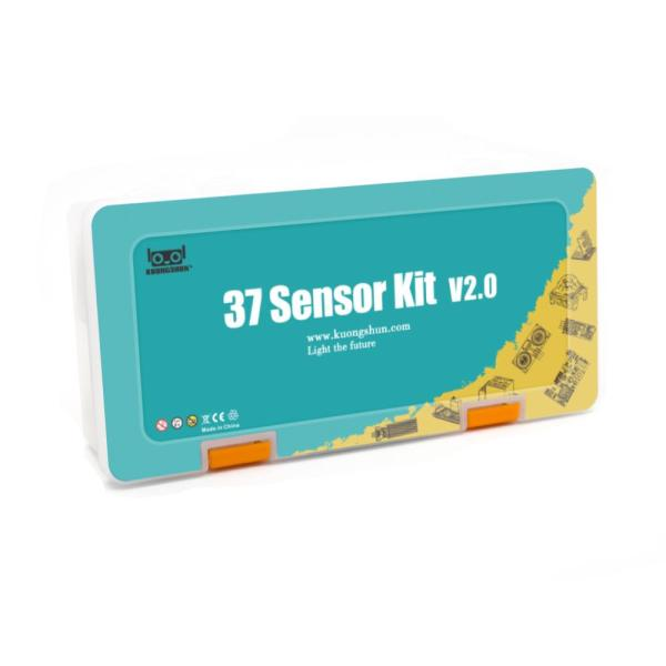 Arduino Kit med 37 sensormoduler versjon 2.0 - Sensor Modules Kit for Arduino, NodeMCU, Raspberry Pi osv Sensorkit 37sensorv2 2 d0c85339 c3f4 4179 a292 2dba08244971