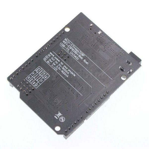 Arduino UNO + WiFi R3 ATmega328P + ESP8266 (32Mb memory) USB-TTL CH340G for Arduino ArduinoUNOwifi03