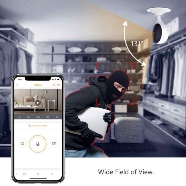 IMOU Cue 2C overvåkingskamera med AI-teknologi Dahua imou Cue 2c 1080P Security human