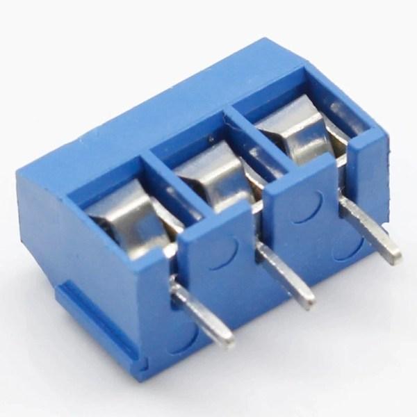 Skrutilkobling - Screw Terminal - passer til Arduino KF301 3P KF3
