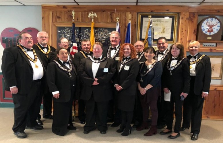 Picture 1: Watchung Hills Elks Lodge #885 Officers 2018-2019
