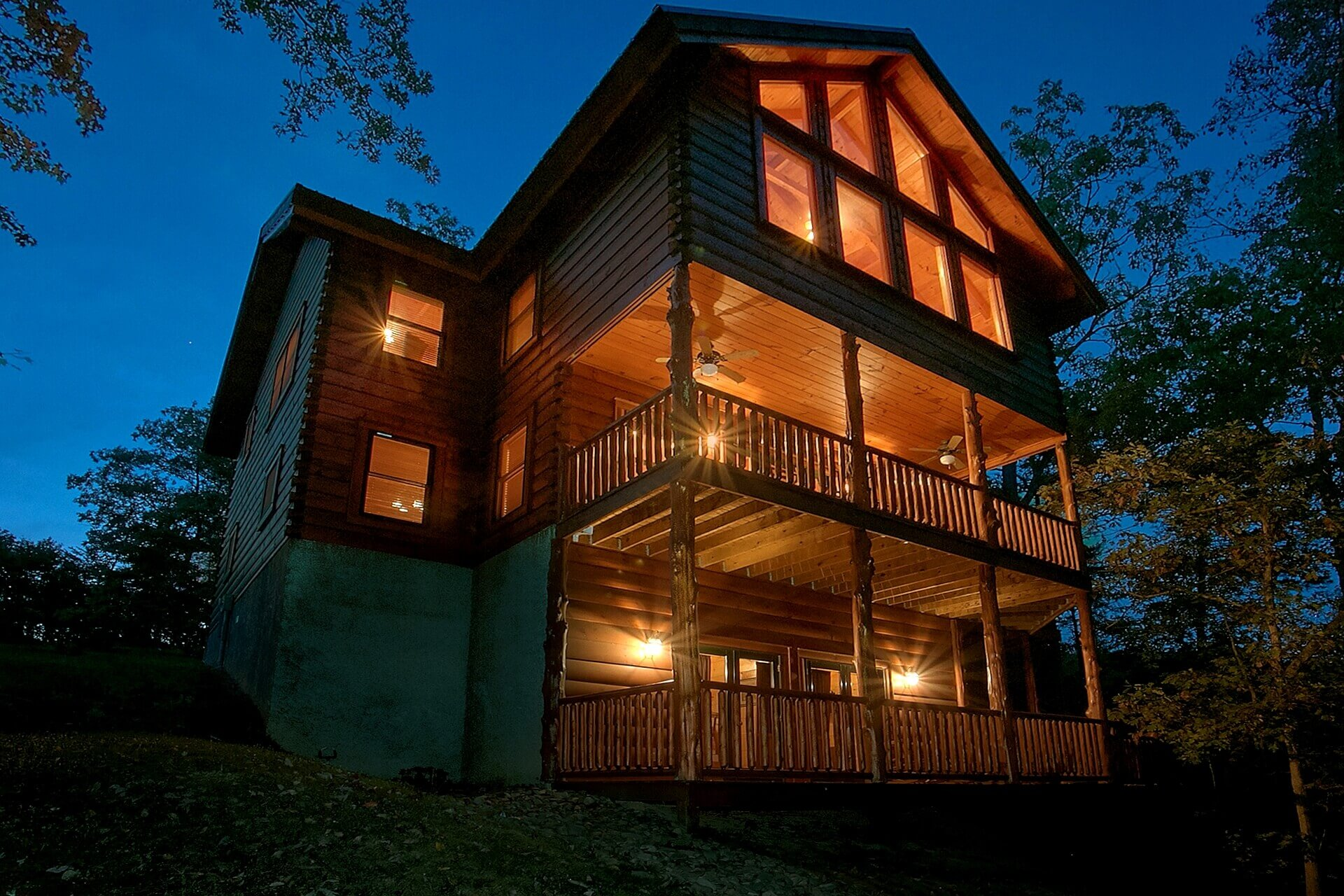 6 & 7 bedroom cabins in gatlinburg - large group cabins | elk