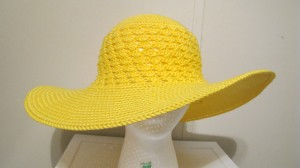 Southern and Sassy summer hat pattern by ELK Studio