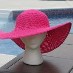 Finishing Another Summer Beach Hat