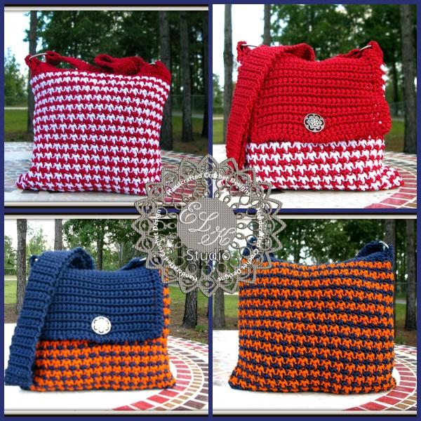 Free Houndstooth Crochet Pattern by ELK Studio