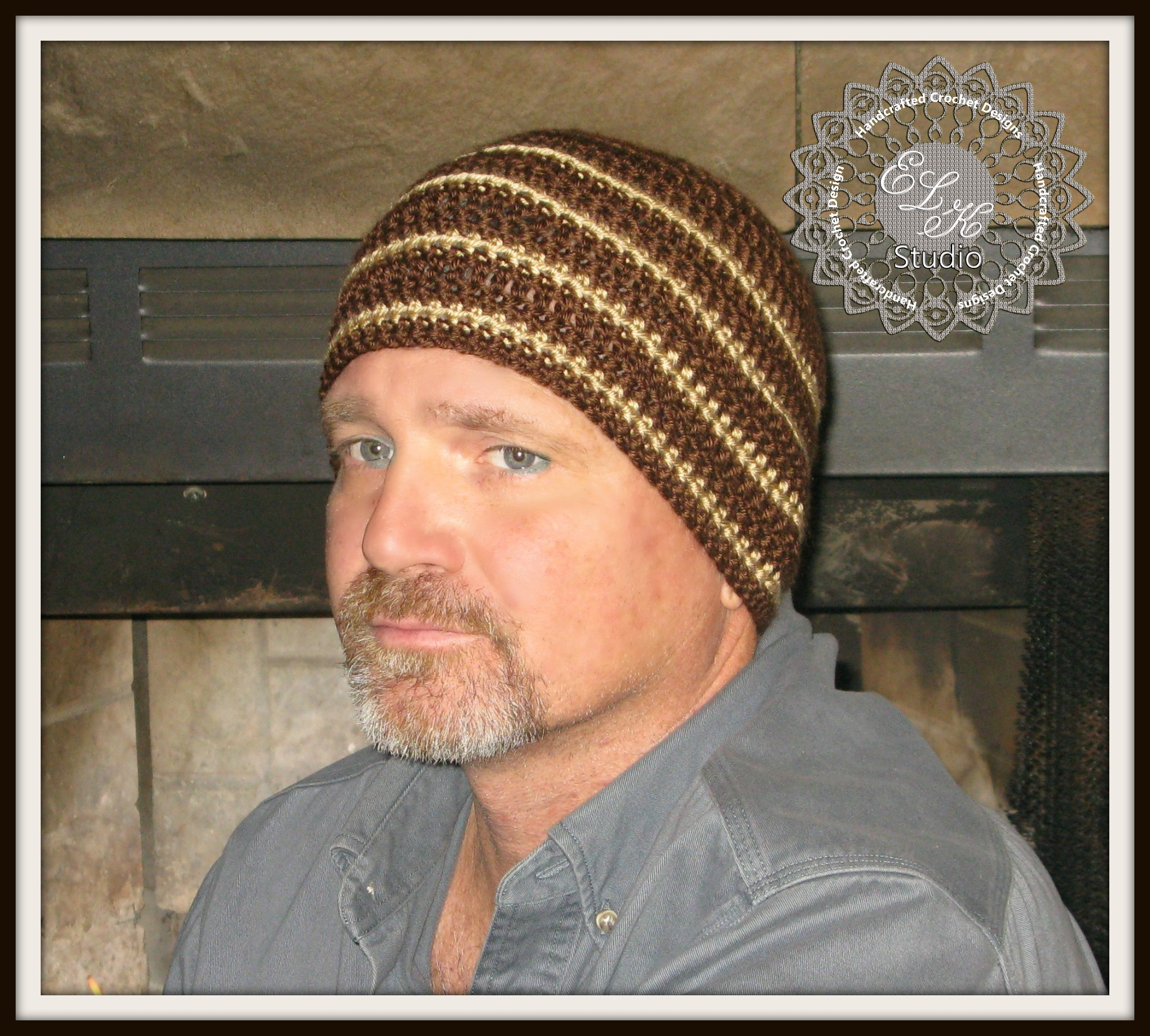 Hunter\'s Run - A Free Crochet Beanie by ELK Studio