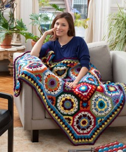 Jessie at Home In Love Throw