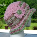 Honeysuckle - A Free Crochet Summer Hat by ELK Studio