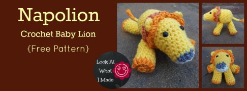 Napolion-Crochet-Baby-Lion-Free-Pattern by Look What I Made