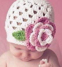 Baby Crochet Hat Pattern by Lisa Auch