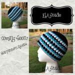 New Upcoming FREE Crochet Hat Pattern by ELK Studio!