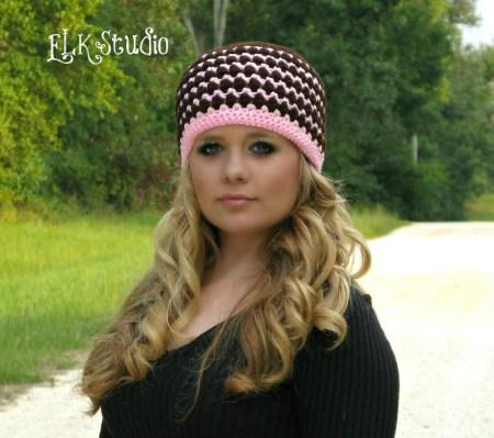 Kodey's Beanie - A FREE Crochet Hat Pattern by ELK Studio