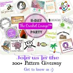 It's a Party!  Come Join the Crocheting Fun and Giveaway!