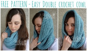 easy-double-crochet-cowl by Katie's Crochet Goodies