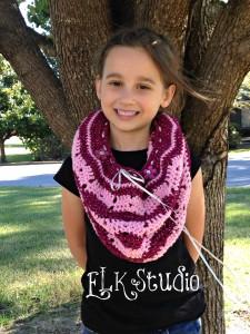 Jayden's Shawlette - A Free Crochet Pattern by ELK Studio