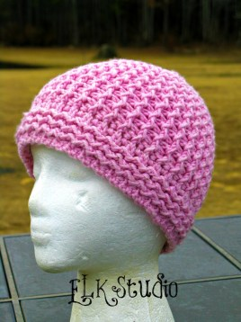 Just Groovin Beanie by ELK Studio #freepattern #crochetpattern