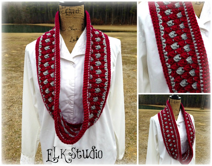 Mystic Scarf by ELK Studio #freepattern #crochet