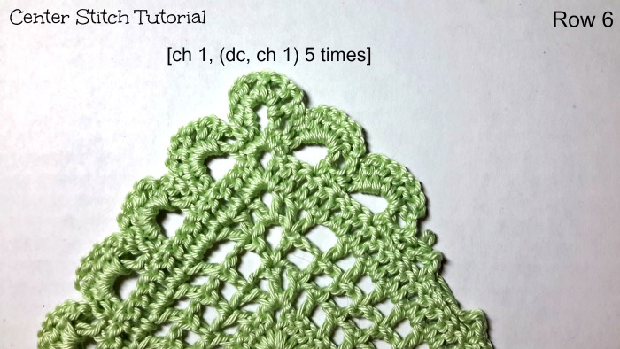 Center Stitch Tutorial by ELK Studio Row 6