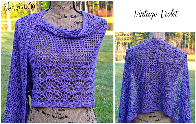 Vintage Violet by ELK Studio #crochet #patterns