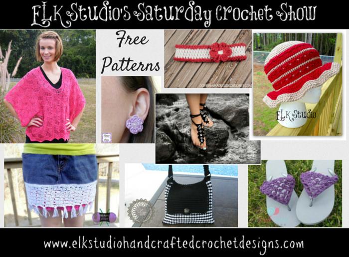 ELK Studio's Saturday Crochet Show!  #freepatterns #crochetpatterns #diy #craft