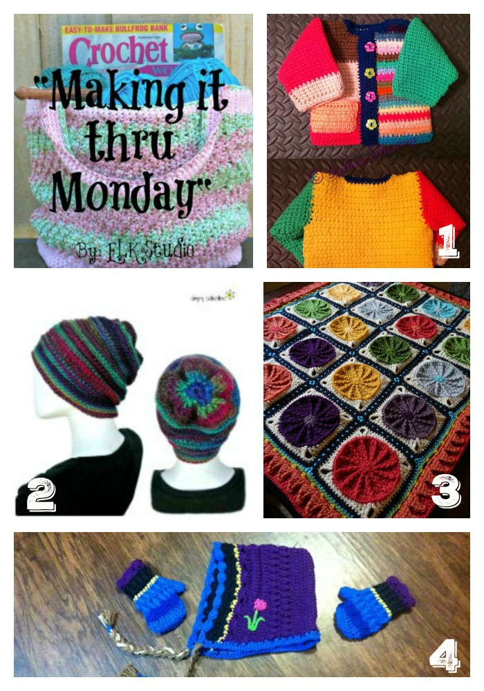 """Making it thru Monday"" Crochet Review #97 by ELK Studio! Find some Crochet Inspiration!"
