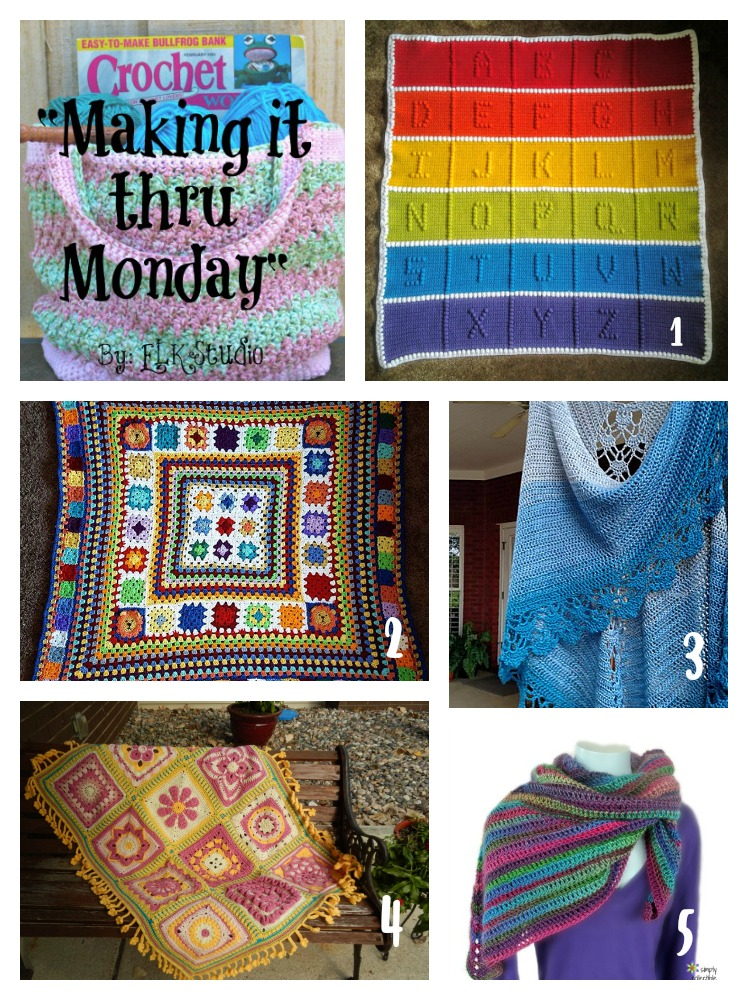 Making it thru Monday Crochet Review #96 by ELK Studio