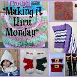 """Making it thru Monday"" Crochet Review 101"